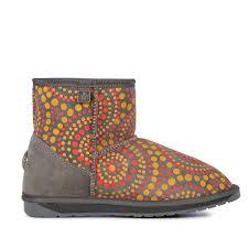 emu australia s boots emu australia indigenous mini sheepskin boots nundle woollen mill