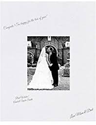 wedding autograph frame 16x20 white signature and autograph picture mat for