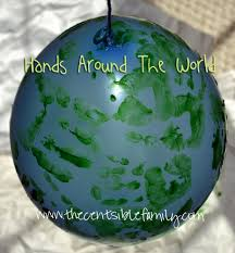 hands around our world frugal crafts the centsible family