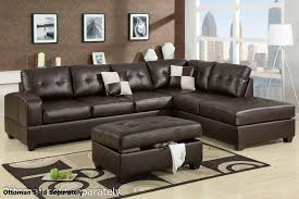 spectacular brown leather sectional sofa 71 in home decorating