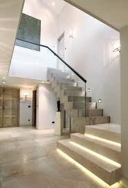 stair lighting ideas staircase contemporary with staircase
