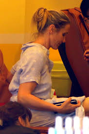 cameron diaz at a nails salon in west hollywood 06 19 2016