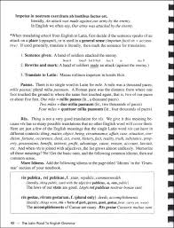 latin road to english grammar v3 textbook with worksheets tests