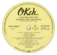Electric Light Orchestra Telephone Line Electric Light Orchestra Greatest Hits Mexican Vinyl Lp Album Lp