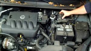 nissan 2008 sentra how to change an air filter on a nissan sentra youtube