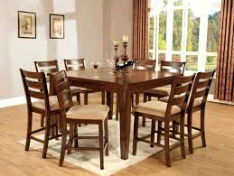 solid wood counter height table sets counter height oak table crown mark empire counter height dining