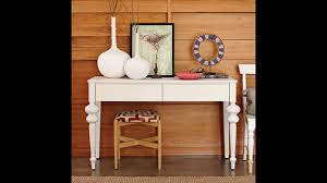 Sofa Table Decorating Ideas Pictures by Creative Console Table Decorating Ideas Youtube