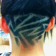 redhair nape shave 12 nape undercut hairstyle designs hair pinterest undercut