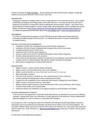 Dialysis Technician Resume Sample 100 Sample Tech Resume Law Enforcement Resume Template Law