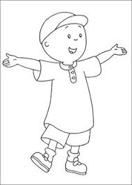 free caillou coloring pages evynn caillou