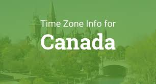 Latest Time Zone Map Now by Time Zones In Canada