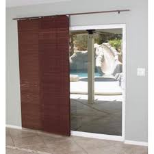 Blinds For Glass Sliding Doors by Bamboo Sliding Panels For Patio Doors Gallery Glass Door