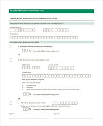sample trust amendment form 7 free documents download in pdf