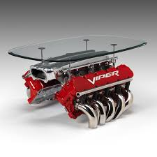 Dodge Viper Engine - engine tables created from rare racing engines ornamentum designs