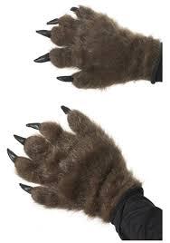 halloween wolf costume hairy wolf paws werewolf costume accessories