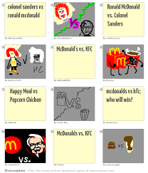 colonel sanders vs ronald mcdonald