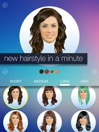 how to see yourself in a different hair color hair makeover new hairstyle and haircut in a minute on the app store