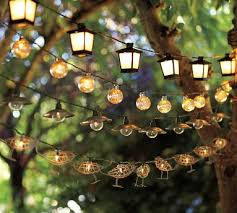 led lantern string lights garden lights lanterns outdoor lights spaces pinterest