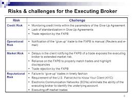 Challenge Risks Fx Prime Brokerage Risks And Challenges Ppt