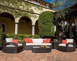deep seating wicker patio furniture sets i spacious design