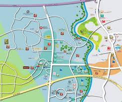 isi layout peta qbig bsd city