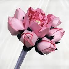 bridesmaid bouquet buy origami bridesmaid bouquets origami wedding bouquet