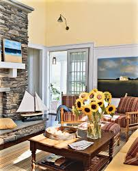 boston stone fireplace designs family room beach style with wall