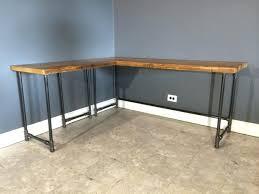 Diy Desk Pipe Desk 112 Pictures Diy Butcher Block Table Tops Wonderful