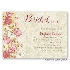 english garden mini bridal shower invitation invitations by dawn