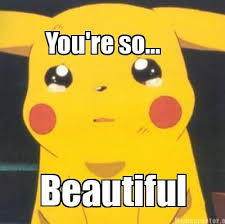 You Are Beautiful Meme - meme creator you re so beautiful meme generator at memecreator