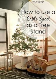 12 posts of cable spool tree stand tree stands