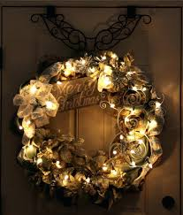 wreaths with lights battery operated tked thngs wrmth tht