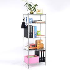 5 Shelf Wire Shelving Compare Prices On Metal Wire Shelves Online Shopping Buy Low