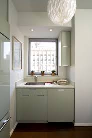 cafe kitchen design glossy cafe au lait upper cabinets in small space kitchen very
