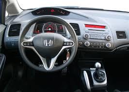 2009 Honda Civic Coupe Interior Honda Civic Si 2008 Interior Automotive Center Pinterest
