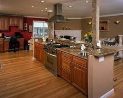 kitchen islands with stove kitchen island with stove and wrap around breakfast bar home decor
