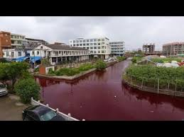 bodies of water list china water turns blood red again updated list harbinger of the