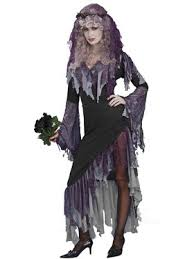 Halloween Prom Queen Costume Womens Zombie Prom Queen Costume Horror Halloween Women U0027s Costume