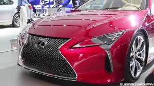 lexus lc canada 2017 lexus lc 500 sound walkaround and discussion youtube