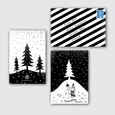 black christmas cards black and white christmas card letter christmas black and white
