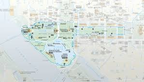 Washington Dc Attractions Map National Mall Map Trust For The National Mall