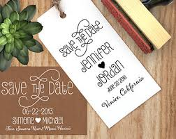 Diy Save The Dates Save The Date Stamp Etsy