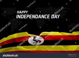 Images Of Uganda Flag Happy Independence Day Uganda Flag World Stock Illustration
