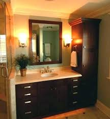 Bathroom Vanities And Linen Cabinet Sets Bathroom Vanity With Linen Cabinet Chaseblackwell Co