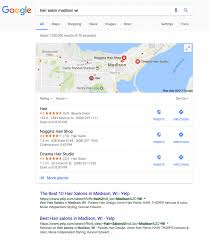 Google Maps Wisconsin by Hair Salon Madison Wi