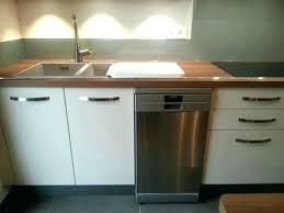 cuisine au lave vaisselle meuble de cuisine avec evier sous lave vaisselle newsindo co