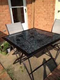 Glass Table Top For Patio Furniture Diy Replace Glass Tabletop With Tile For 15 Tabletop