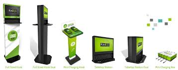 cell phone charging stations