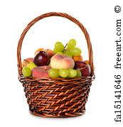 fruit in a basket free print of various fruit in a basket various fruit in a