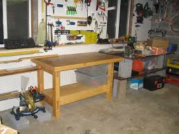 Workshop Garage by Garage Bench Designs Pdf Plans Home Workshop Bench Plans Download